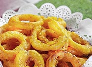 Spiced Onion Rings at The Jungle Restaurant in Muscat