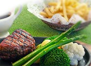 Sizzler Steak Dishes at The Jungle Restaurant in Muscat