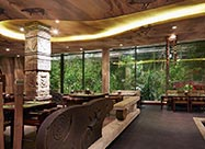 Best Interior of The Jungle Restaurant in Muscat