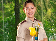 Staff Service at The Jungle Restaurant in Muscat