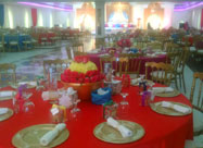 Dining Hall at The Bahja hall in Muscat