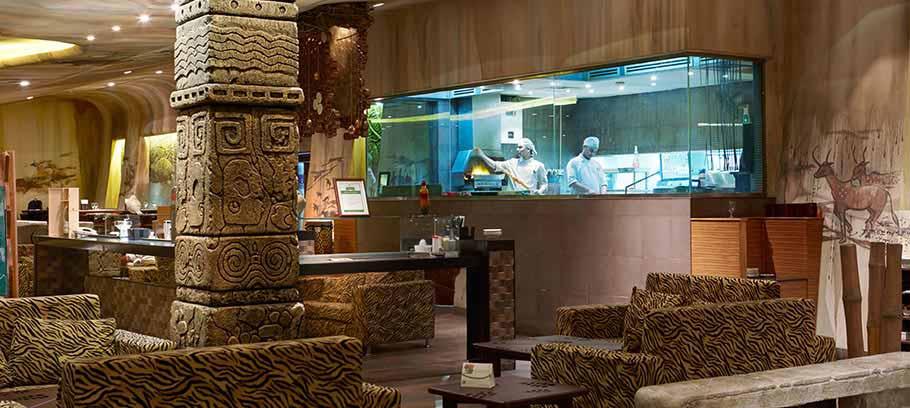 Rainforest Theme Restaurant in Muscat | The Jungle